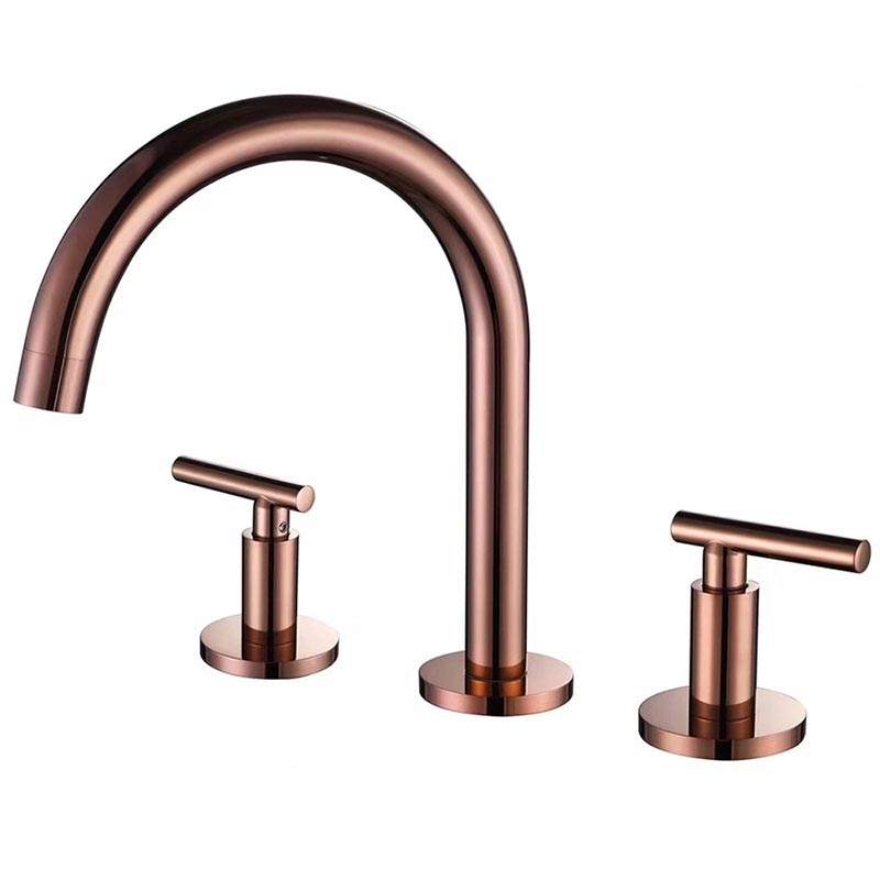 2 handle widespread sink tap