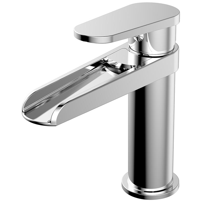 Waterfall Single handle Bathroom Sink Faucet