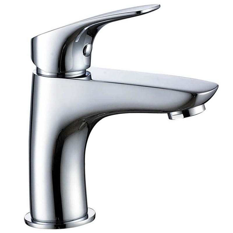 Basin faucet for bathroom sink