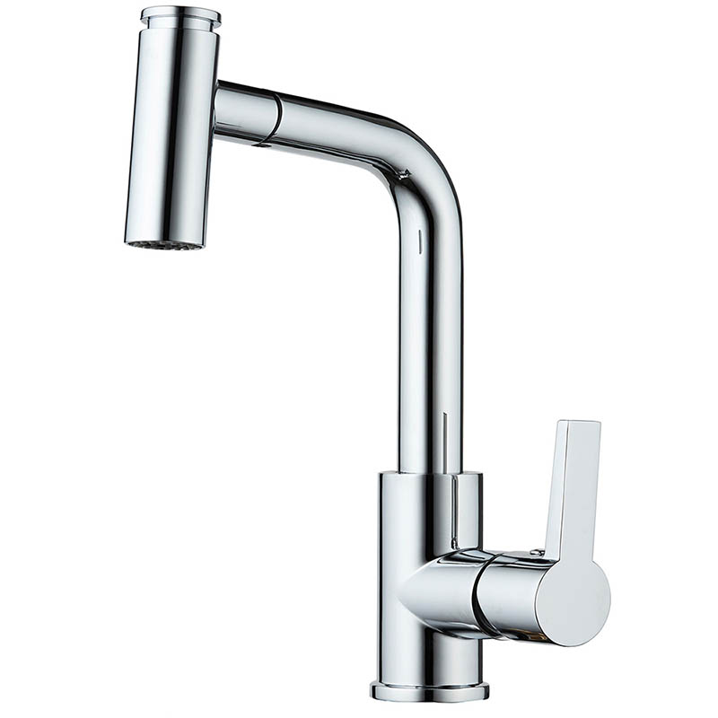 One Handle High Arc Pulldown Kitchen Tap