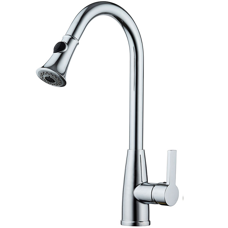 High Arch Kitchen Faucet 360 Degree Swivel Spout Kitchen Sink Faucet Hot and Cold Water Mixer