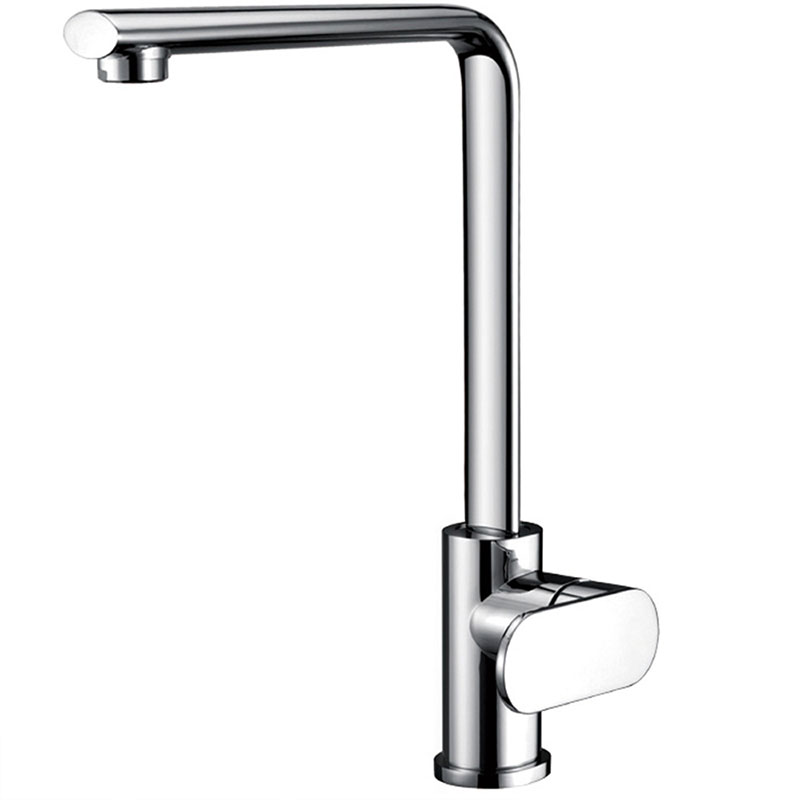 Flat Kitchen Faucet Single Handle