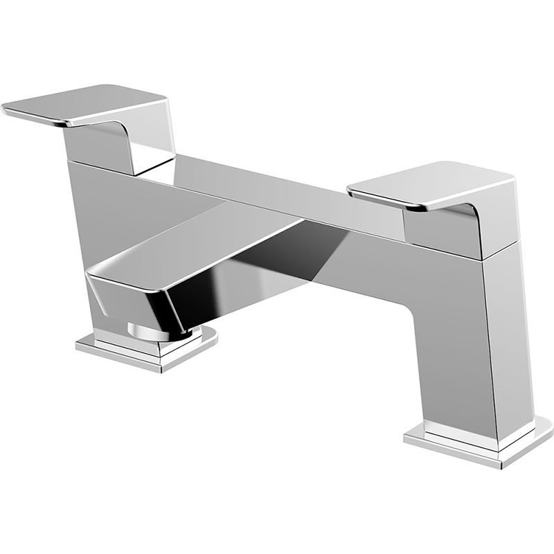 Deck mounted 2 handle Bathtub Mixer Tap