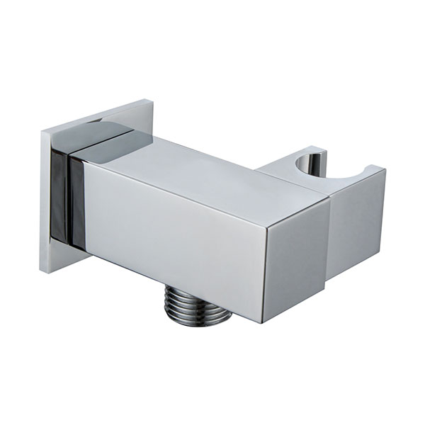square angle valve with holder