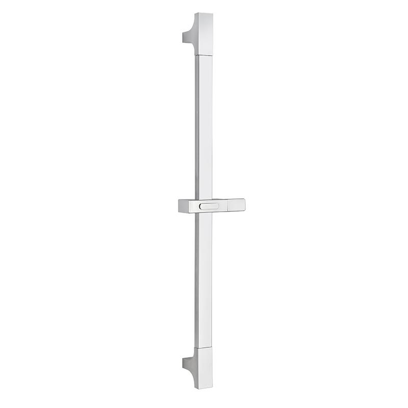 Shower slide bar with adjustable holder