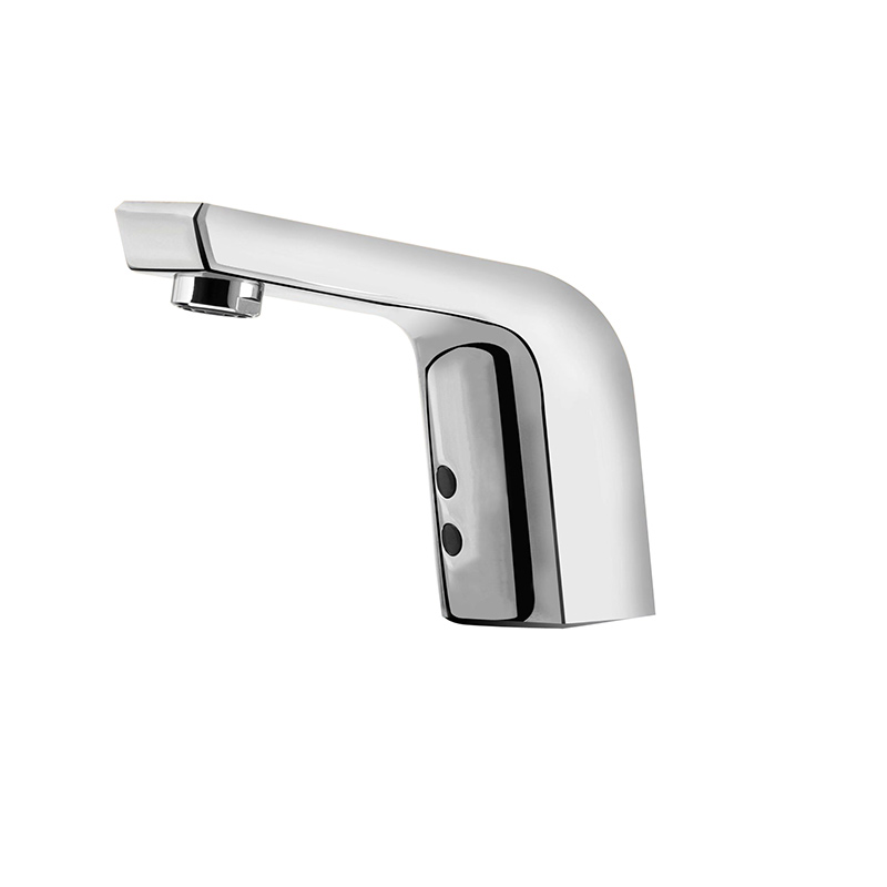 Electronic Hands Free Sink Faucet with Dual Sensor Module