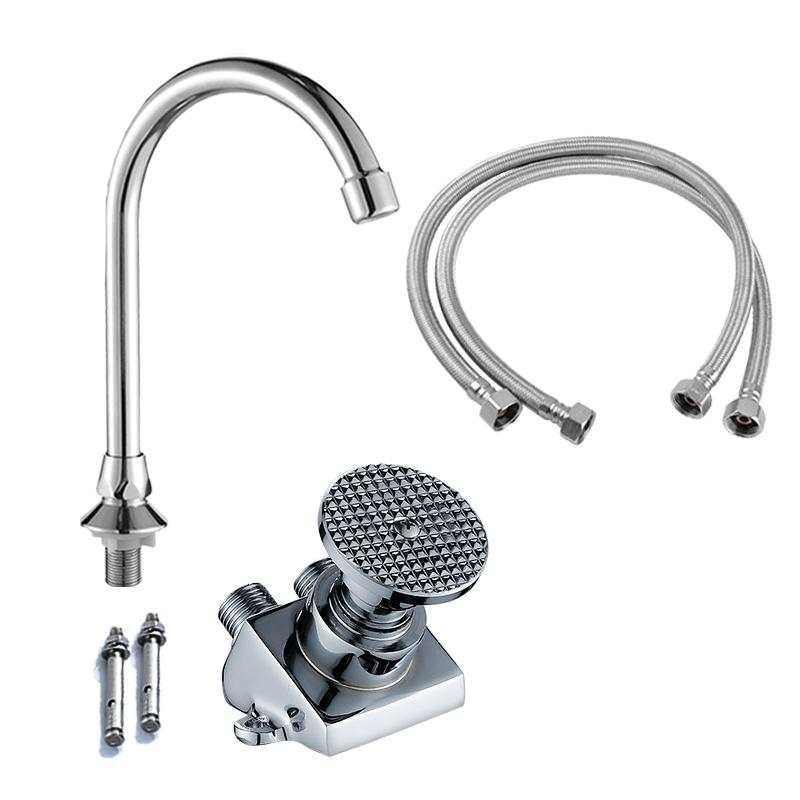 Foot-Operated Faucet Single Cold
