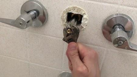 fix shower Diverter Valve