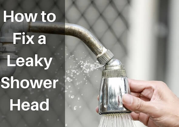 how to fix a leaking shower head